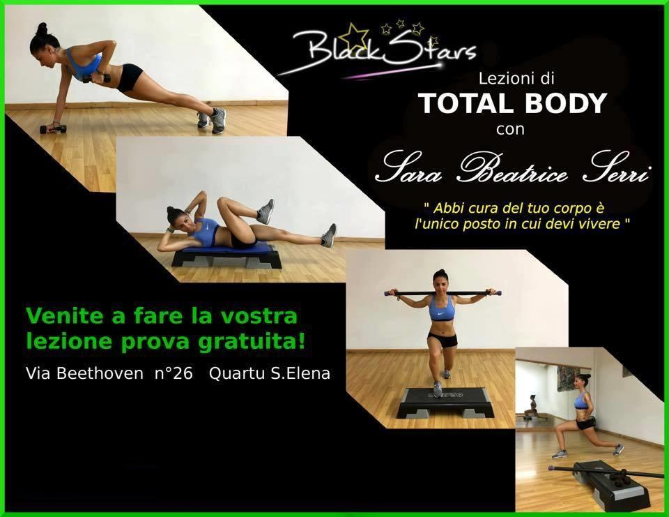 Sara Beatrice Serri insegnante Total Body a Quartu - Sardegna